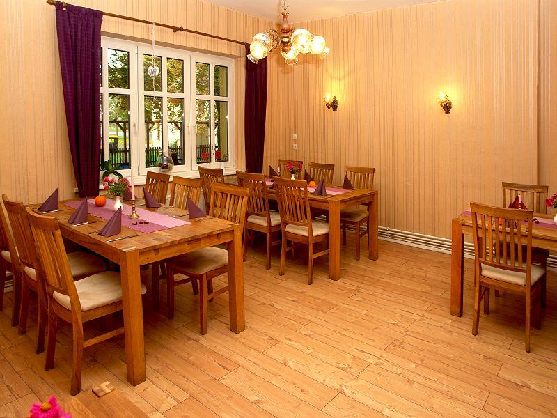 Gaststätte Kastanienhof Uckermark - Gastraum II Gesamtansicht