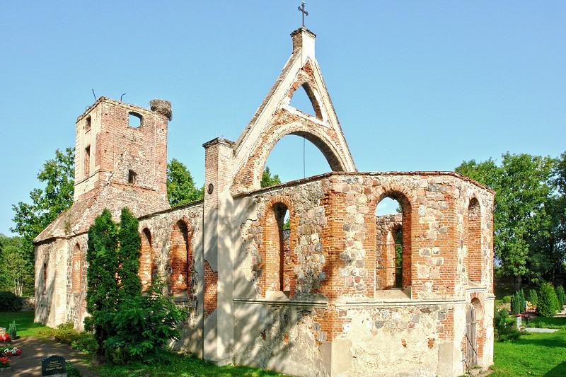 Kirche Flieth - Gesamtansicht