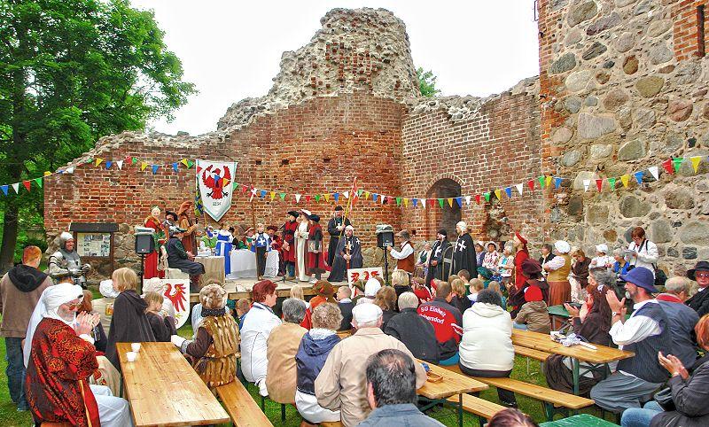 Wasserburgfest in Gerswalde