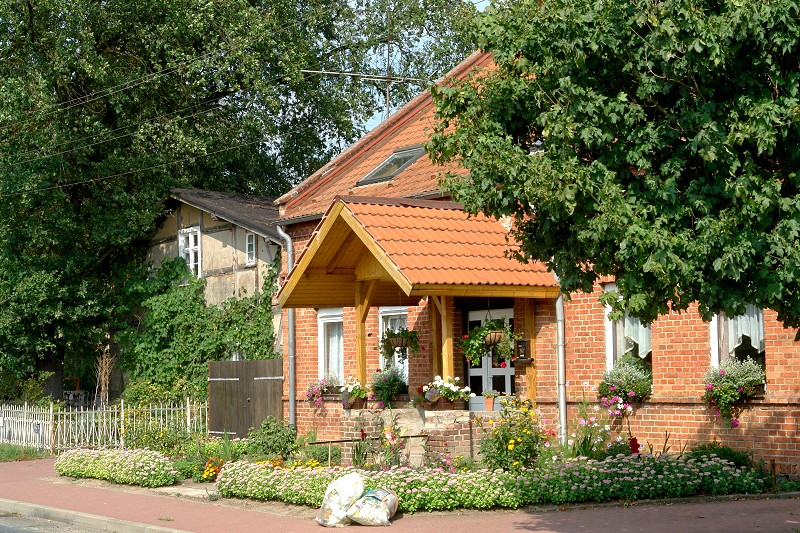 Bauernhäuser in Flieth