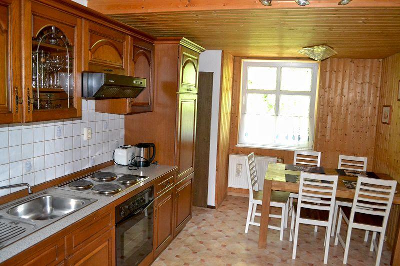 große Ferienwohnung - Küche